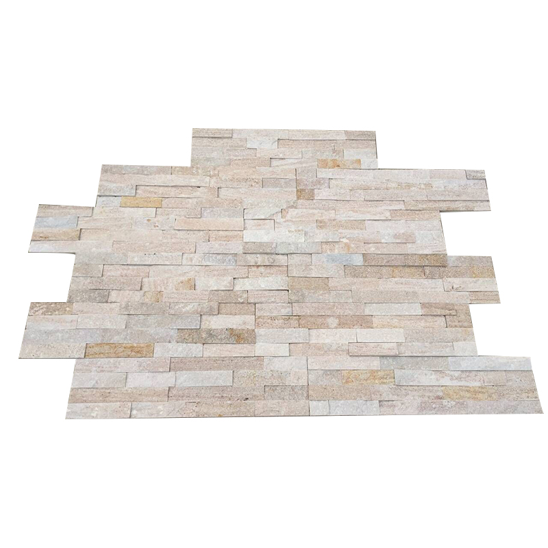 Best quality promotional white quartzite culture stone wall panel