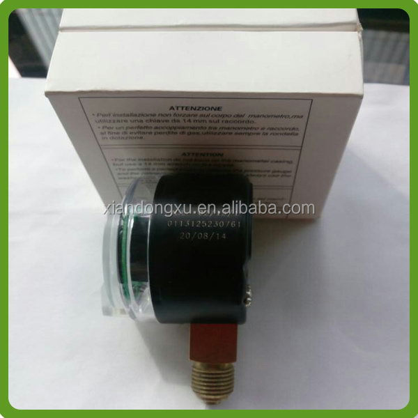 Good quality OEM 316ss oil filled cng fuel pressure gauge