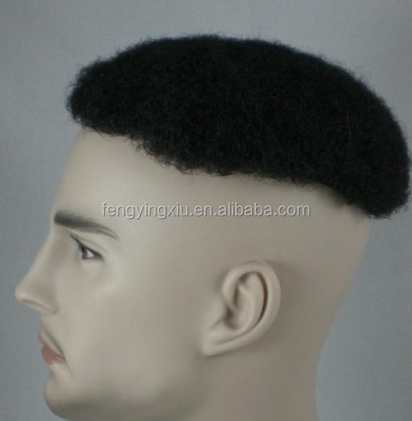 Afro Kinky Curly Swiss Lace Toupee 4e218cd6c