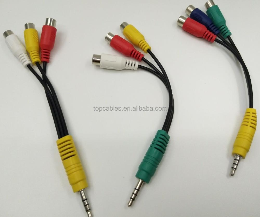 Rca Video Audio Splitter Plug Adapter, Rca Video Audio Splitter Plug ...