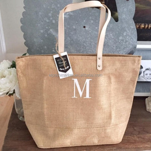 Personalized Jute Beach Bag Bridesmaid Gifts Personalized Gifts for Friends