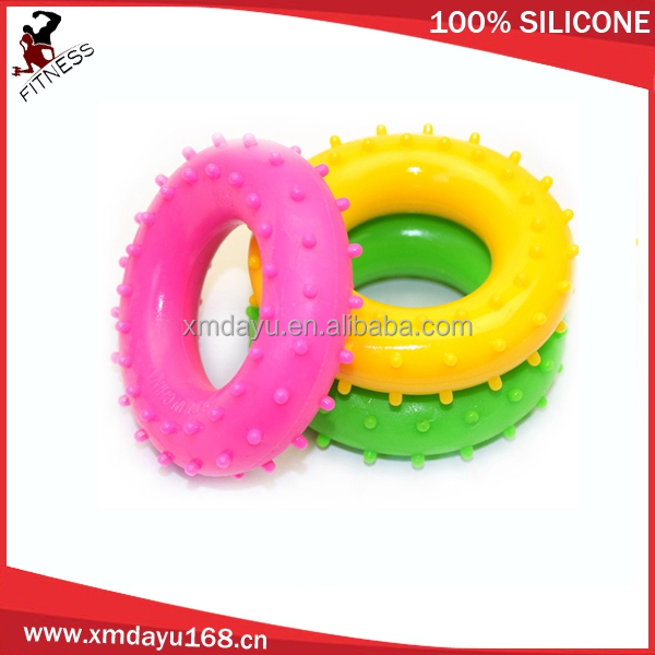 Silicone gel massage ring hand grip strength- Hand exercise band