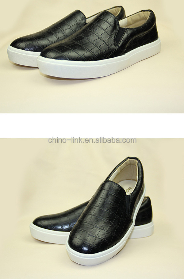 Cheap spring made in china slip on shoes for men loafer