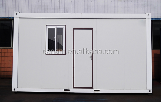 Prefabricated amazing new container living house with sliding windows