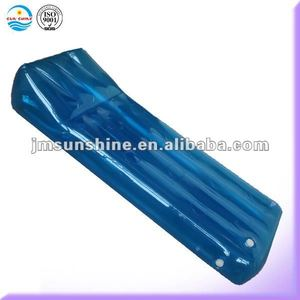 Beach relaxing inflatable air mattress
