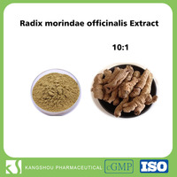 High quality Natural radix morindae officinalis P.E 10:1 radix morindae officinalis