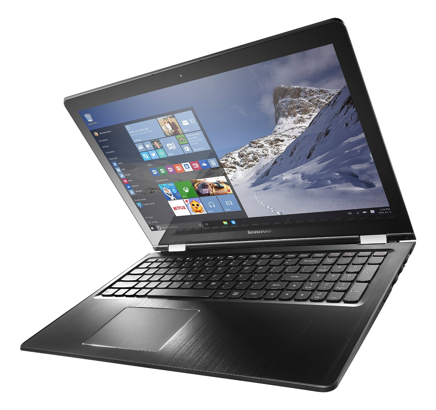 Lenovo Flex 3 15.6-Inch Touchscreen Laptop (Core i7, 8 GB RAM, 1 TB HDD, Windows 10) 80R40006US
