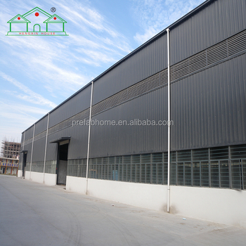 Expandable sandwich panel steel structure warehouse and workshop
