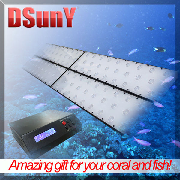 DSunY 48'' marine moonlight and daylight led aquarium light with computer control, no fan noise, ultra thin