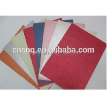 Colorful PVC Paper Vinyl Coated Book Binding and Box Wrapping Paper