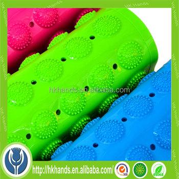 pvc curved bath mat