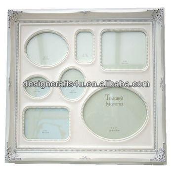Shabby Chic Cream Multi Aperture Large Photo Frame - Buy Large Photo ...