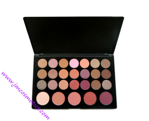 Private labels Makeup palette soft and durable, multi-colored, shiny and easily colored and remove arabic eye shadow