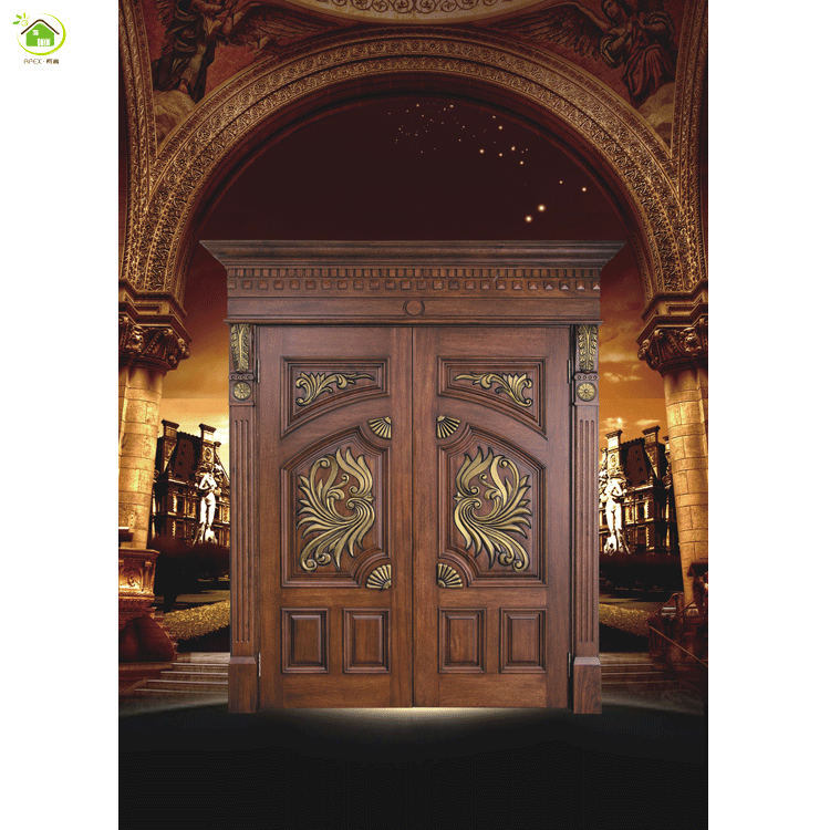 Exterior Main Gate Design Villa Entrance Security Wooden