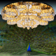Large Gorgeous decorating led crystal ceiling lighting lowes bathroom ceiling heat lamp