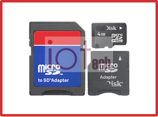 MicroSD with adapter Cards