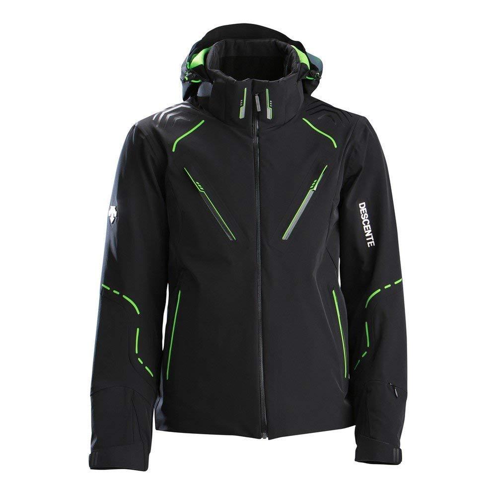 21493dcdba8a7 Descente Korean World Cup Jacket Black Green M
