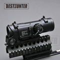 Tactical Riflescope DR Quick Detachable 1X 4X Fixed Dual Role Sight Shotgun Scope Hunting Optics Riflescope