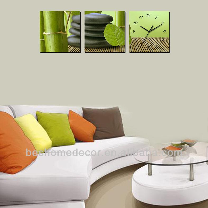 En casa de decoración de la pared reloj, personalizada reloj de ...