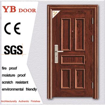 Iron Main Gate Designs Interior Metal Security Safety Door