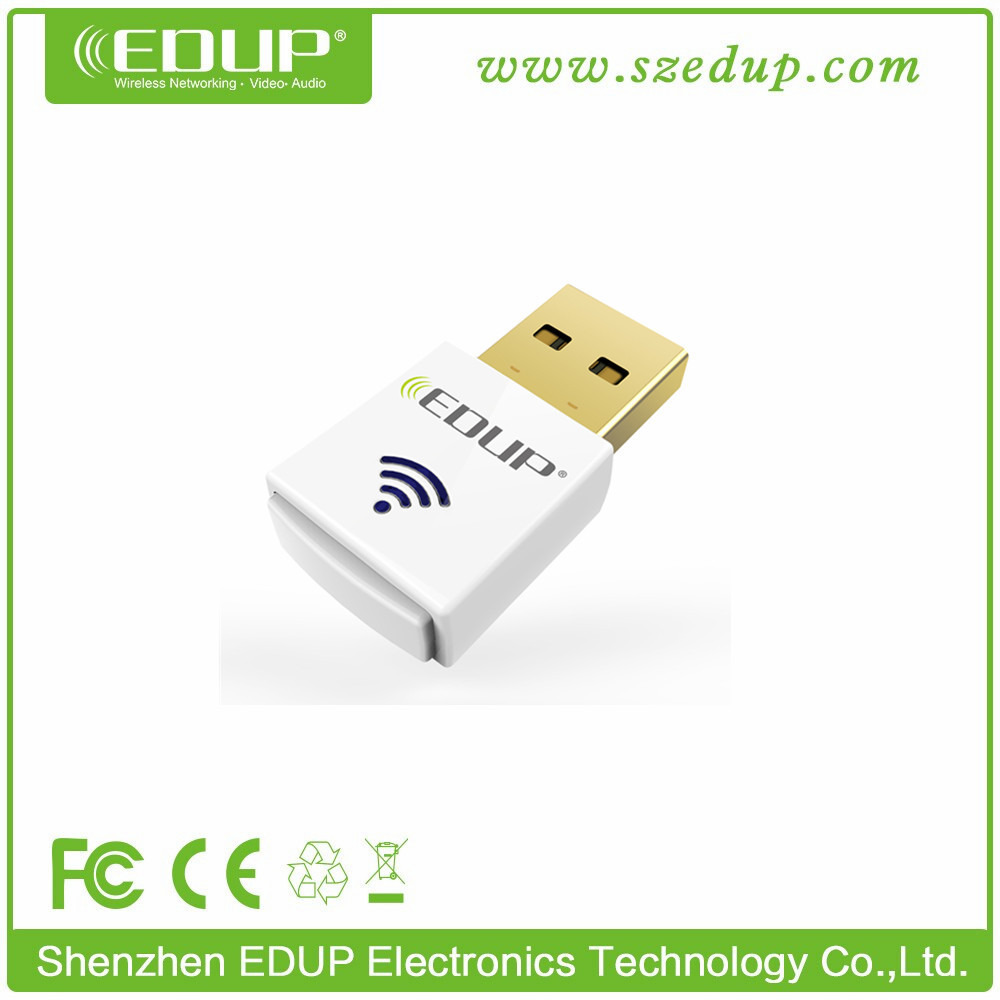 Micro Dual Band AC600Mbps 433Mbps(5.8G) / 150Mbps(2.4G) USB Wifi Adapter