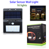 Outdoor Solar Motion Sensor Light Waterproof 16 LED Manufacture Wall Light