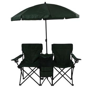 b392dd7391 double seat camping chair with umbrella outdoor folding double beach chair,  View double seat camping chair with umbrella, CLOUDYOUTDOOR Product ...