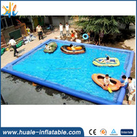 2017 High quality customized inflatable swimming pool/PVC water pool for sale