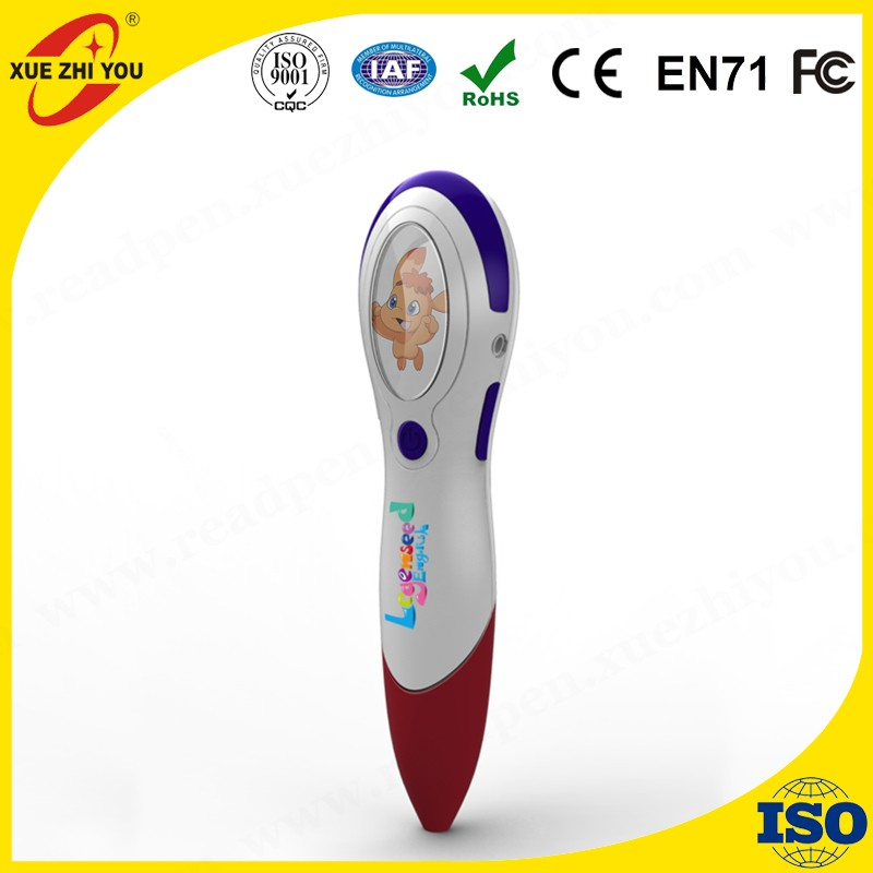 electronic special smart gift talking pen kids study learning english toy voice pen