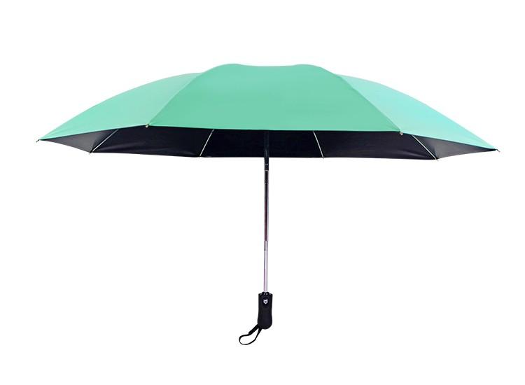 Wholesale 3 Fold Automatic Inverted Mini Umbrella Upside Down