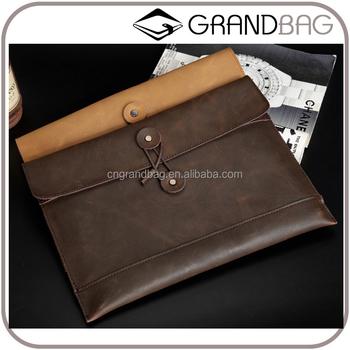 1c89655134d5 Classic Business Genuine Leather Envelope Handbag