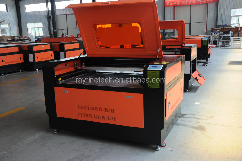 low cost plywood shapes laser cutting machine RF-9060-CO2-80W