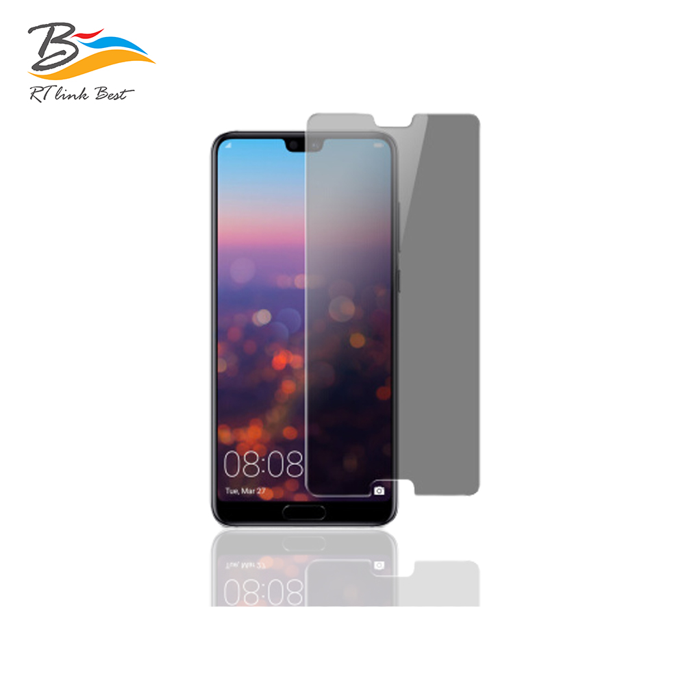 RT Link Best For Huawei P20  screen protector full cover Anti privacy screen protector for Huawei P20 Protector de pantalla