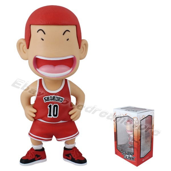 Slam Dunk Shohoku Cosplay Costume High Sakuragi Hanamichi Red 10 Jersey V1 Set