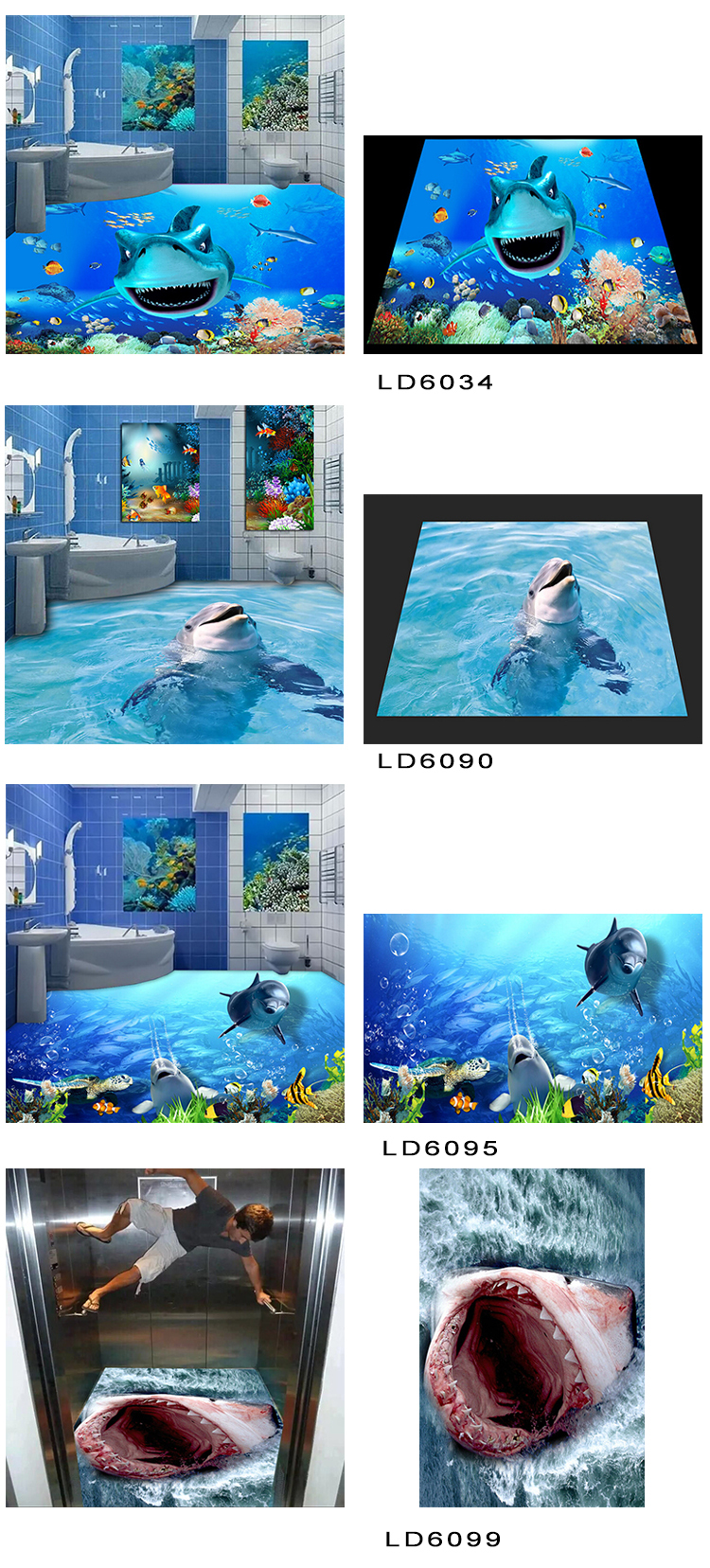 2018 Dolphin Look Style Micro Crystal Porcelain Cheapest Price 3d ...