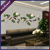 New designs interior fish embossed 3d wall painting home decor