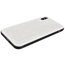 UEE White Sea Shell Case for IphoneX Fingerprint-proof Phone Case for Iphone