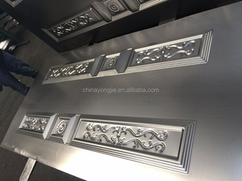 Decorative Stainless Steel Door Kick Plates