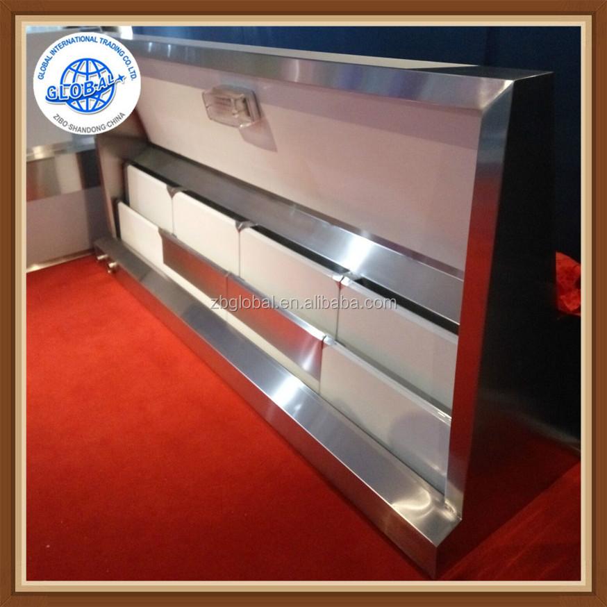 Campanas extractoras de cocina de escape de acero for Equipo mayor de cocina pdf