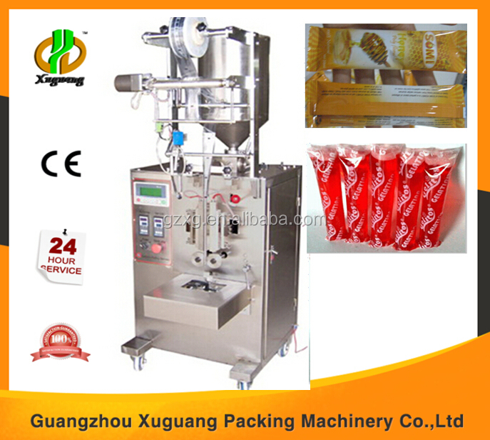 Packaging machine honey with zigzag notch applicable for food