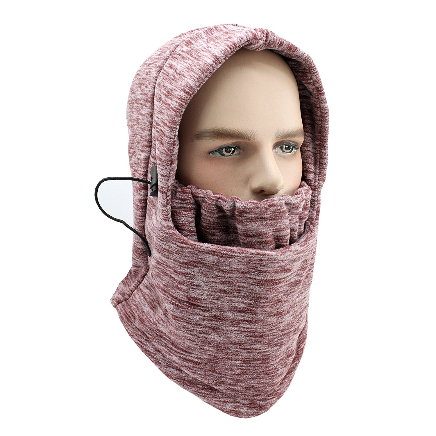 4ec7eb8ebfd Get Quotations · ViewHuge Men Women Winter Soft Windproof Ski Mask Full Face  Mask Motorcycle Neck Warmer Thermal Running