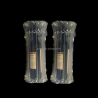 High quality inflatable air bag column for Red Wine Bottle packaging Customized plastic PE bag