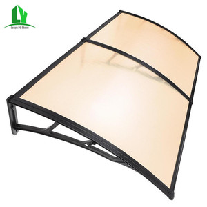 diy roof polycarbonate Plastic used awnings for sale