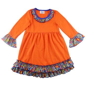 be998b8bb Hot Sale Baby Handmade Smocked Dress Cotton Linen Girl s Dress Long ...