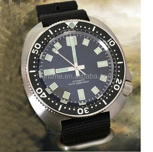Top brand automatic men watches super luminous watch nato strap wrist watches for diver