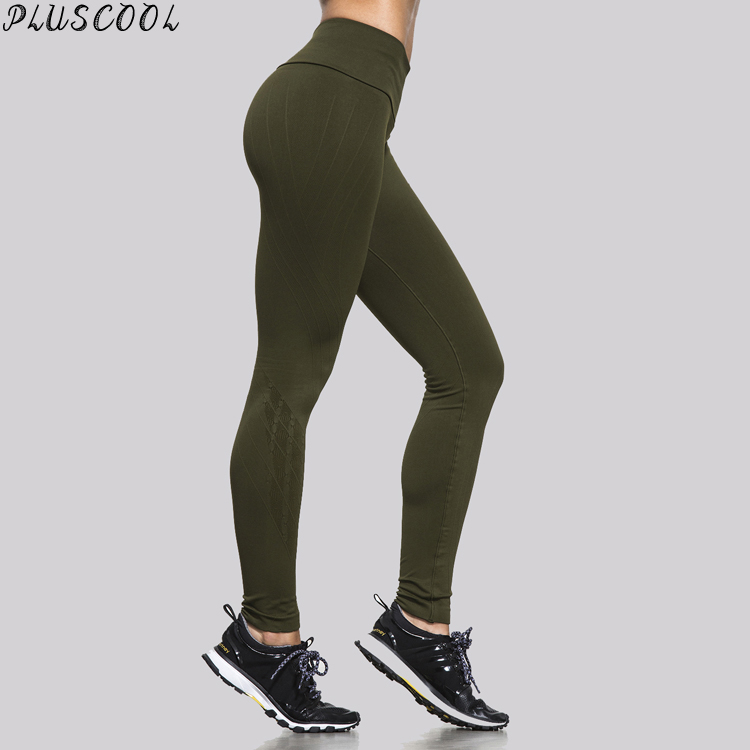 high quality sexy green moisture wicking manufacturing of leggings