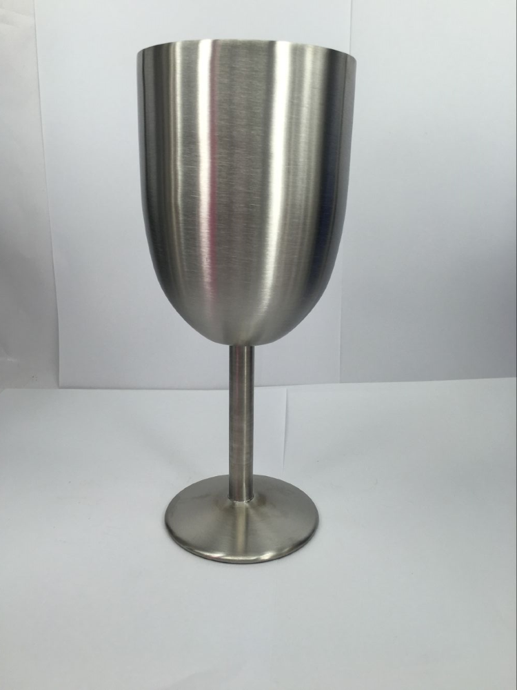 Double Wall Stainless Steel Insulated Vacuum Stemless Wine