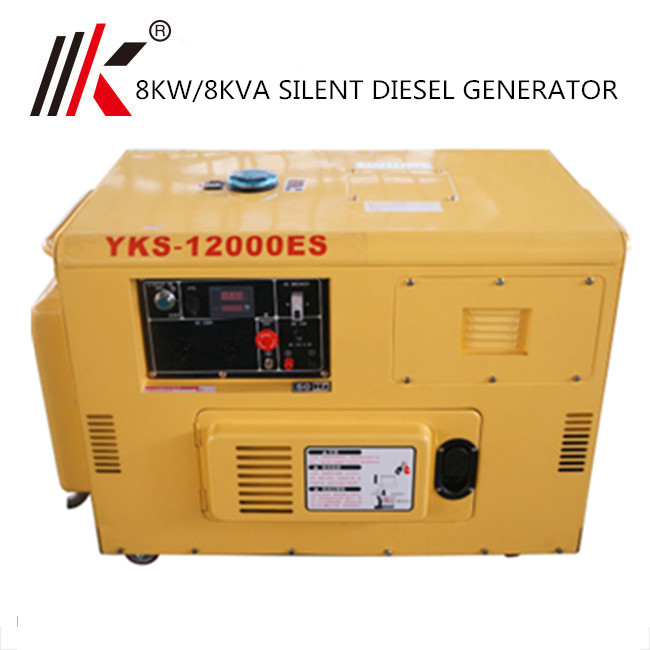 7 Kva 7 5 Kw Silent Diesel Generator Price For Home Use