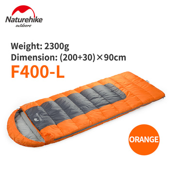 Naturehike Envelope Sleeping Bag With Hood F400 XL Inflatable Bags Camping Indoor Adult