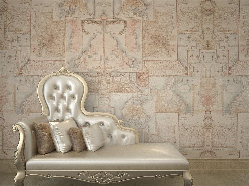 wereldkaart behang gallery of behang woonkamer